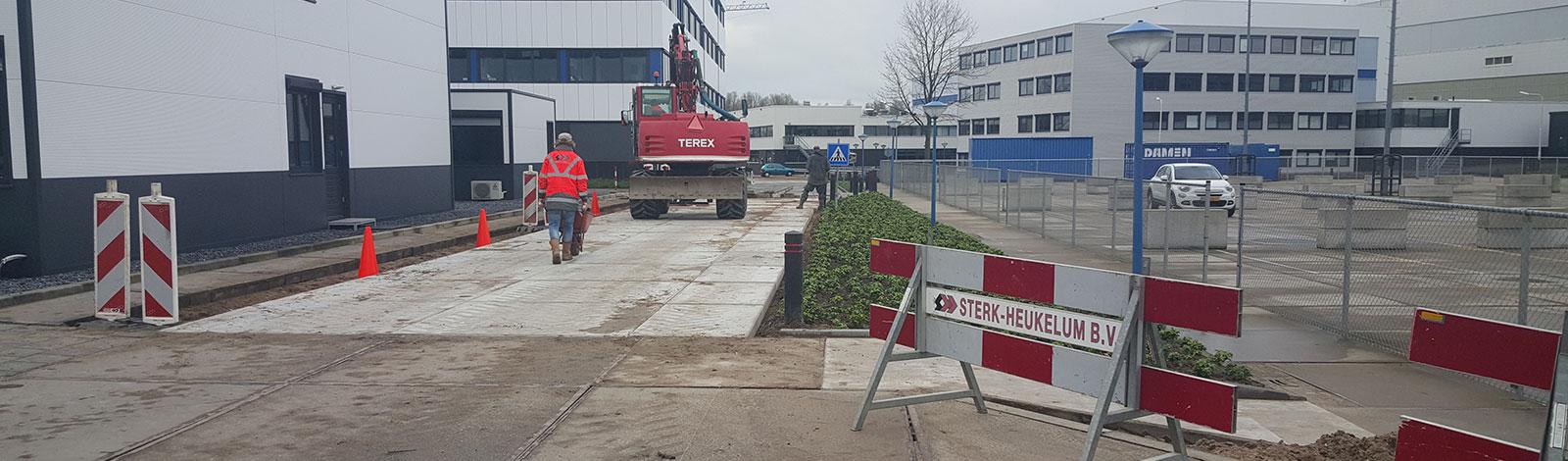 Sterk Heukelum - aannemer in grondwerken en machineverhuur banner 3