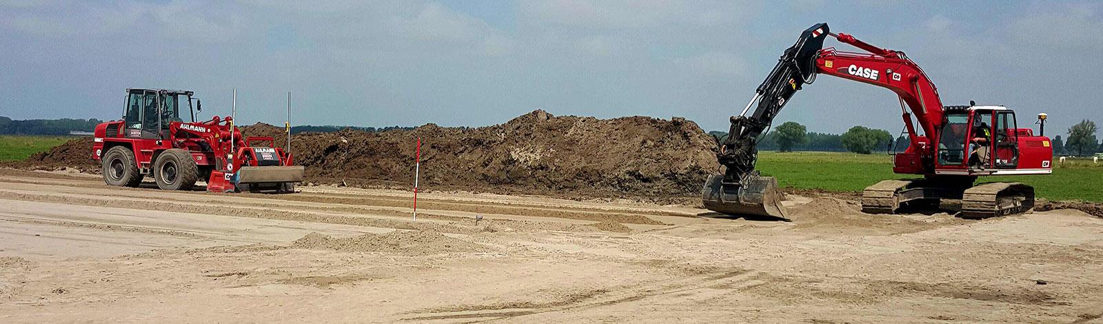 Sterk Heukelum - aannemer in grondwerken en machineverhuur banner 6